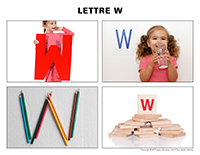 Poni découvre et présente-Lettre W
