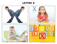 Poni découvre et présente-Lettre X