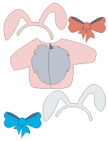 Poupée à habiller - Pâques - Poni
