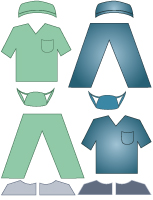 Poupées à habiller - L'hôpital