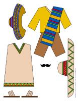 Poupées à habiller - Mexique