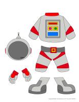 Poupées à habiller-Astronautes