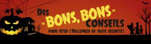 Prévention des accidents-Halloween