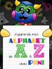 J'apprends mon alphabet de A à Z avec Poni