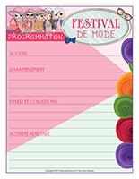 Programmation-Festival de mode