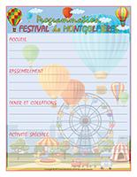 Programmation-Festival de montgolfières