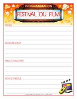 Programmation-Festival du film