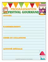 Programmation-Festival gourmand