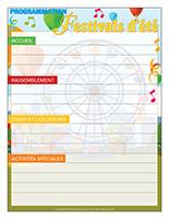 Programmation-Festivals d'été