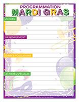 Programmation-Journée Mardi gras