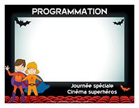 Programmation-Journée spéciale-Cinéma superhéros