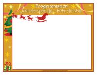 Programmation-Journée spéciale-Fête de Noël