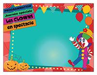 Programmation-Journée spéciale-Le clowns en spectacle