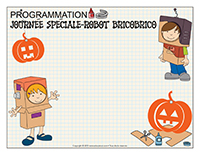 Programmation-Journée spéciale-Robot bricobrico