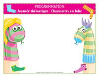 Programmation-Journée thématique-Chaussettes en folie