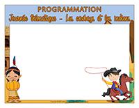 Programmation-Journée thématique-Les cowboys et les Indiens