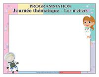 Programmation-Journée thématique-Les métiers
