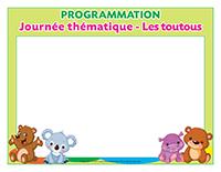Programmation-Journée thématique-Les toutous