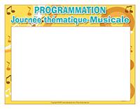 Programmation-Journée thématique-Musicale