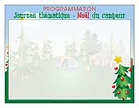 Programmation-Journée thématique-Noël du campeur