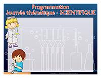 Programmation-Journée thématique-Scientifique
