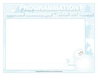 Programmation-Journée thématique-Tout en blanc
