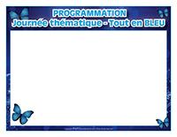 Programmation-Journée thématique-Tout en bleu