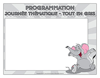 Programmation-Journée thématique-Tout en gris