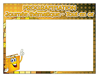 Programmation-Journée thématique-Tout en or