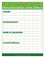 Programmation-La Saint-Patrick