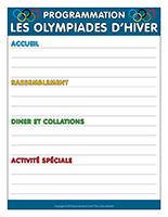 Programmation-Les olympiades d'hiver