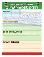Programmation-Olympiades d'été