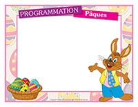 Programmation Pâques