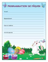 Programmation de Pâques