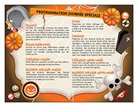 Programmation fête d'Halloween