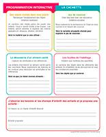 Programmation interactive-La cachette