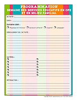 Programmation interactive-Semaine des services éducatifs en CPE et en milieu familial 2021