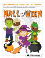 Programmation thématique-Halloween 2018
