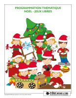 Programmation thématique-Noël-Jeux libres