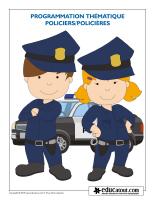 Programmation thématique-Policiers-Policières