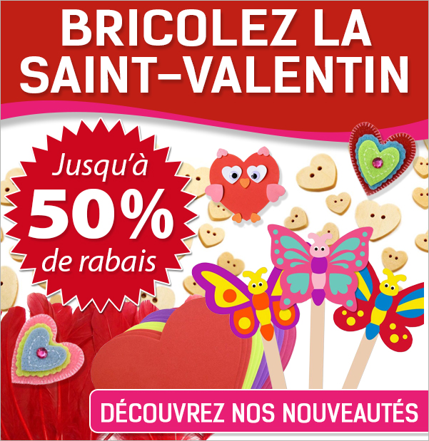 BRICOLAGE SAINT-VALENTIN