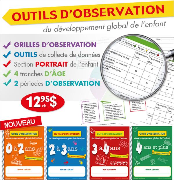 outils d'observation