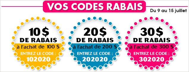 code rabais