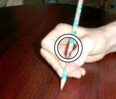 Questionnement sur la prise du crayon - 2