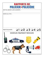 Rapports de policier-policière