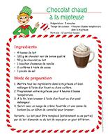 Recette-Chocolat chaud à la mijoteuse
