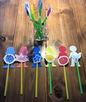 Reconnaitre les couleurs en jouant avec les fleurs-2