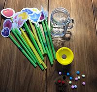 Reconnaitre les couleurs en jouant avec les fleurs-7
