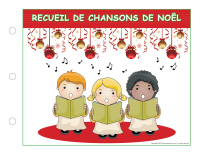 Recueil de chansons Noël-2014