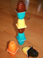 Recycler en jeux les petits pots de yogourt-2